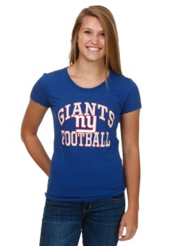New York Giants Franchise Fit Womens T-Shirt