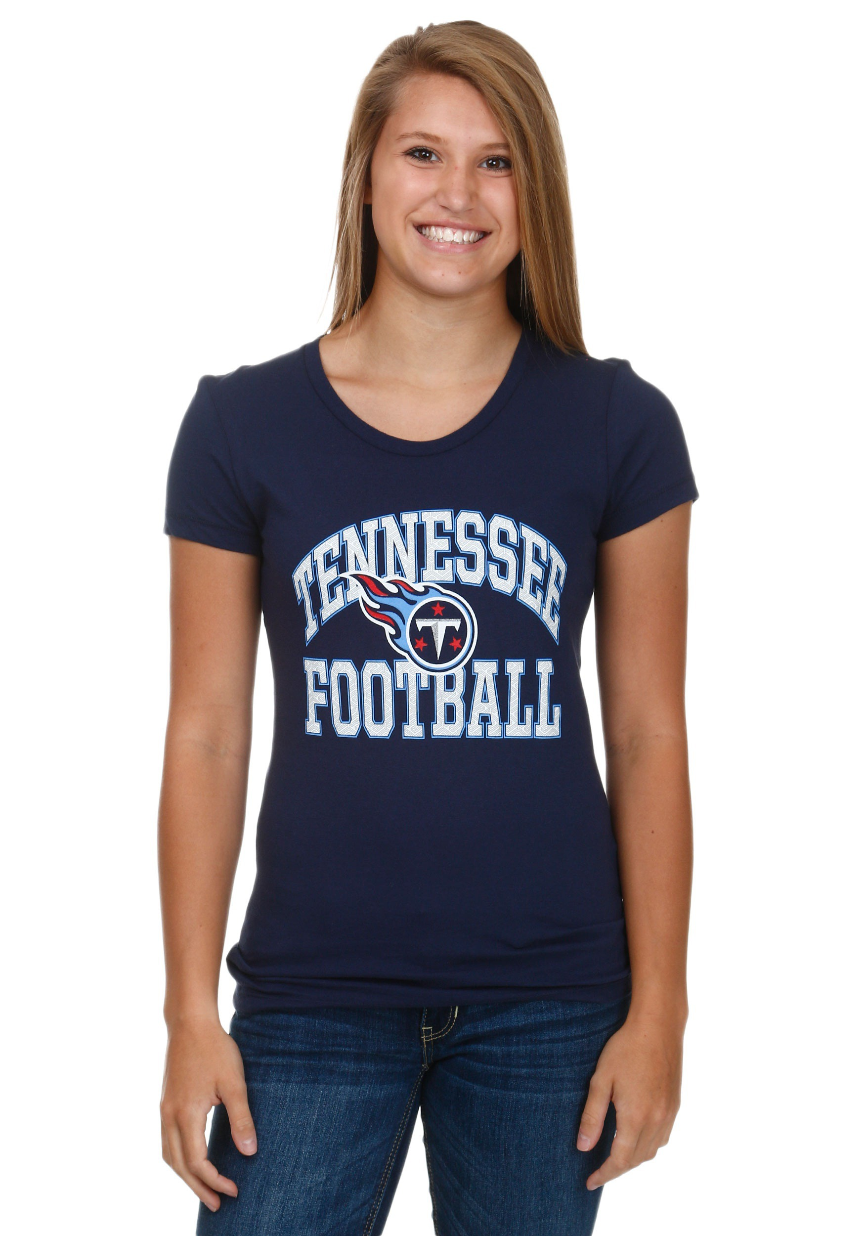 Tennessee titans franchise fit womens t shirt for T shirt printing franchise
