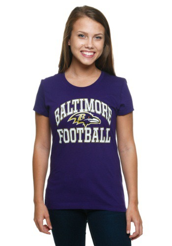 Womens Baltimore Ravens Franchise Fit T-Shirt