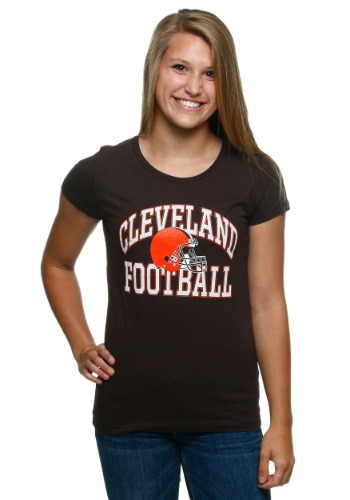 Womens Cleveland Browns Franchise Fit T-Shirt
