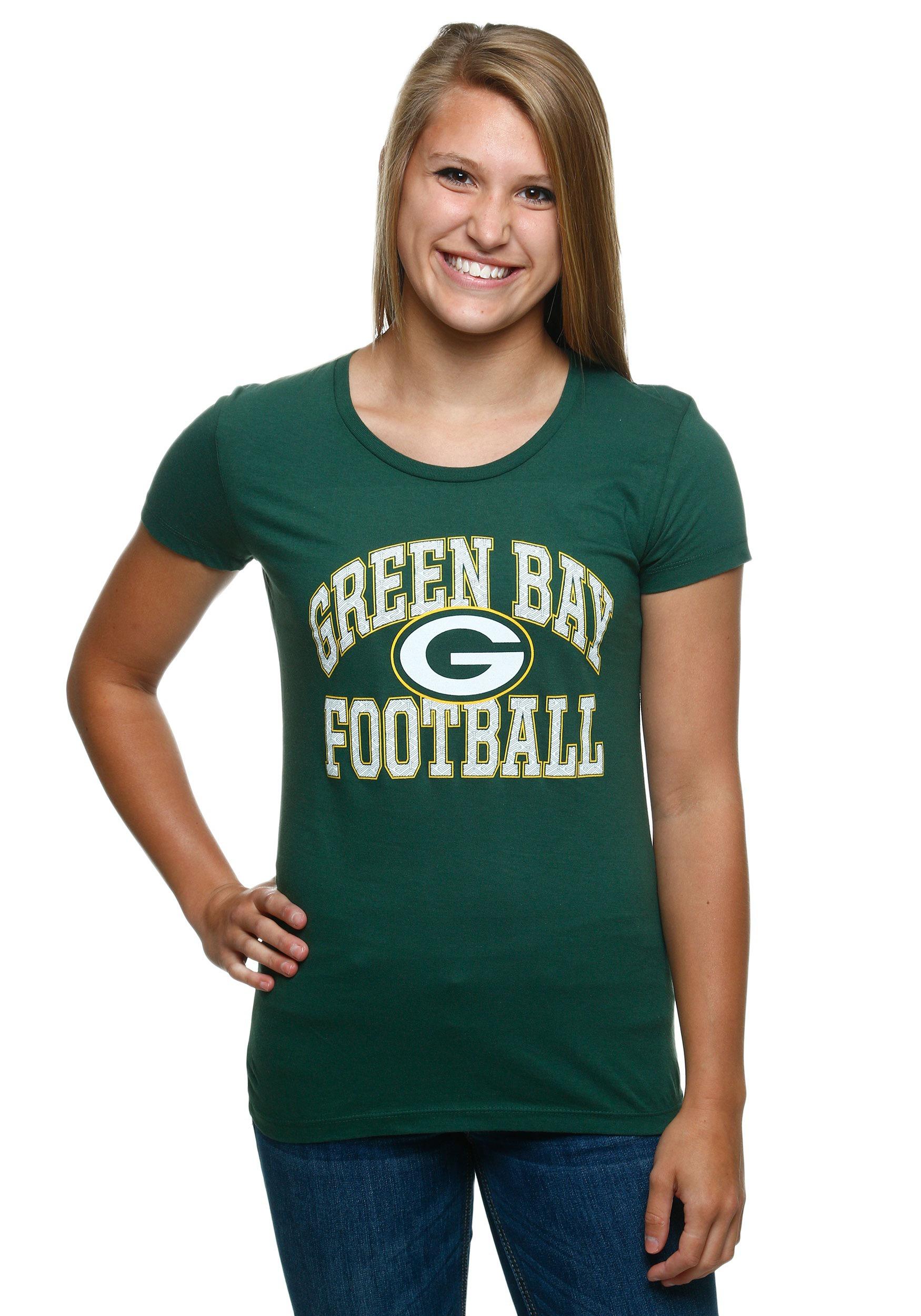 green bay women's t shirts
