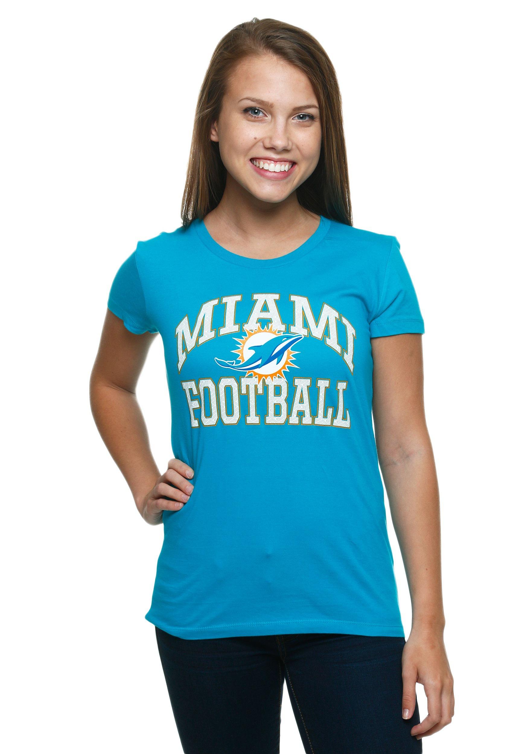 Miami Dolphins Franchise Fit Women S T Shirt