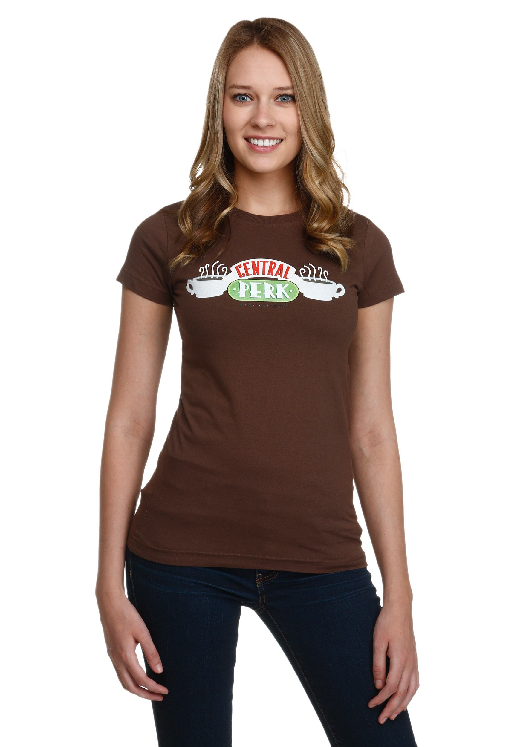 Womens Friends Central Perk T-Shirt TVWBT335JS1