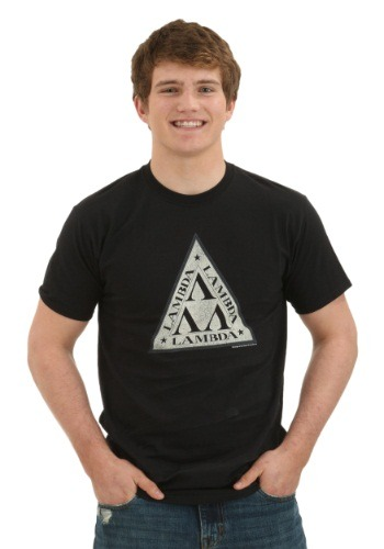 Revenge of the Nerds Lambda Logo T-Shirt TVTCF325AT1