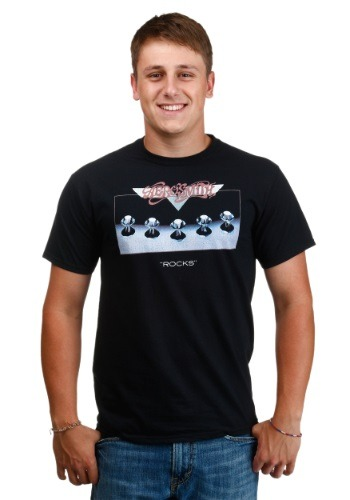 Mens Aerosmith Rocks Men's T-Shirt