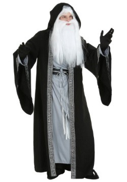 Men's Plus Size Deluxe Wizard Costume
