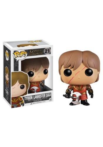 POP Tyrion Lannister Scar & Battle Armour Vinyl Figure FN3779