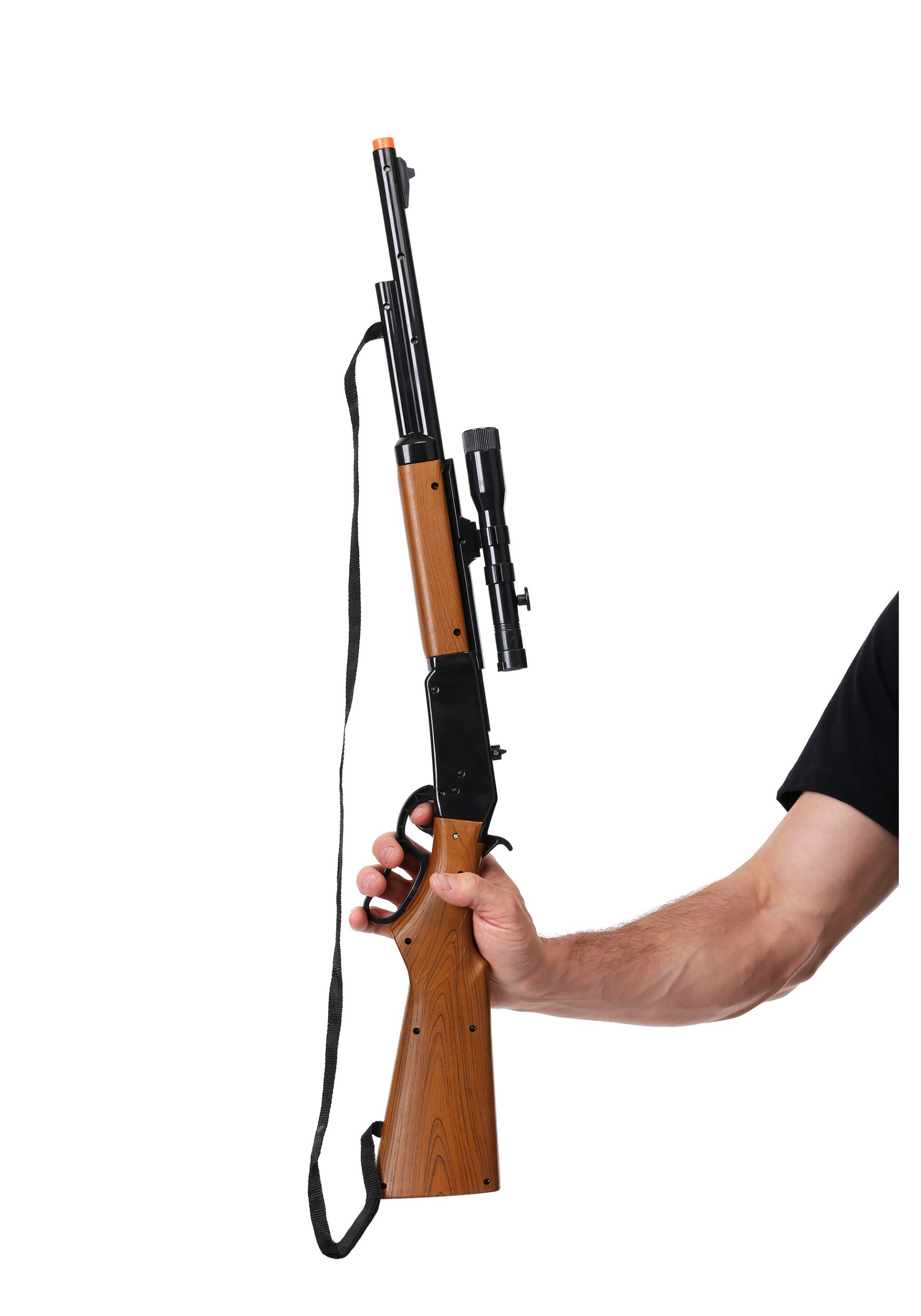 Toy Lever Action Repeater Rifle with Scope SND10830R