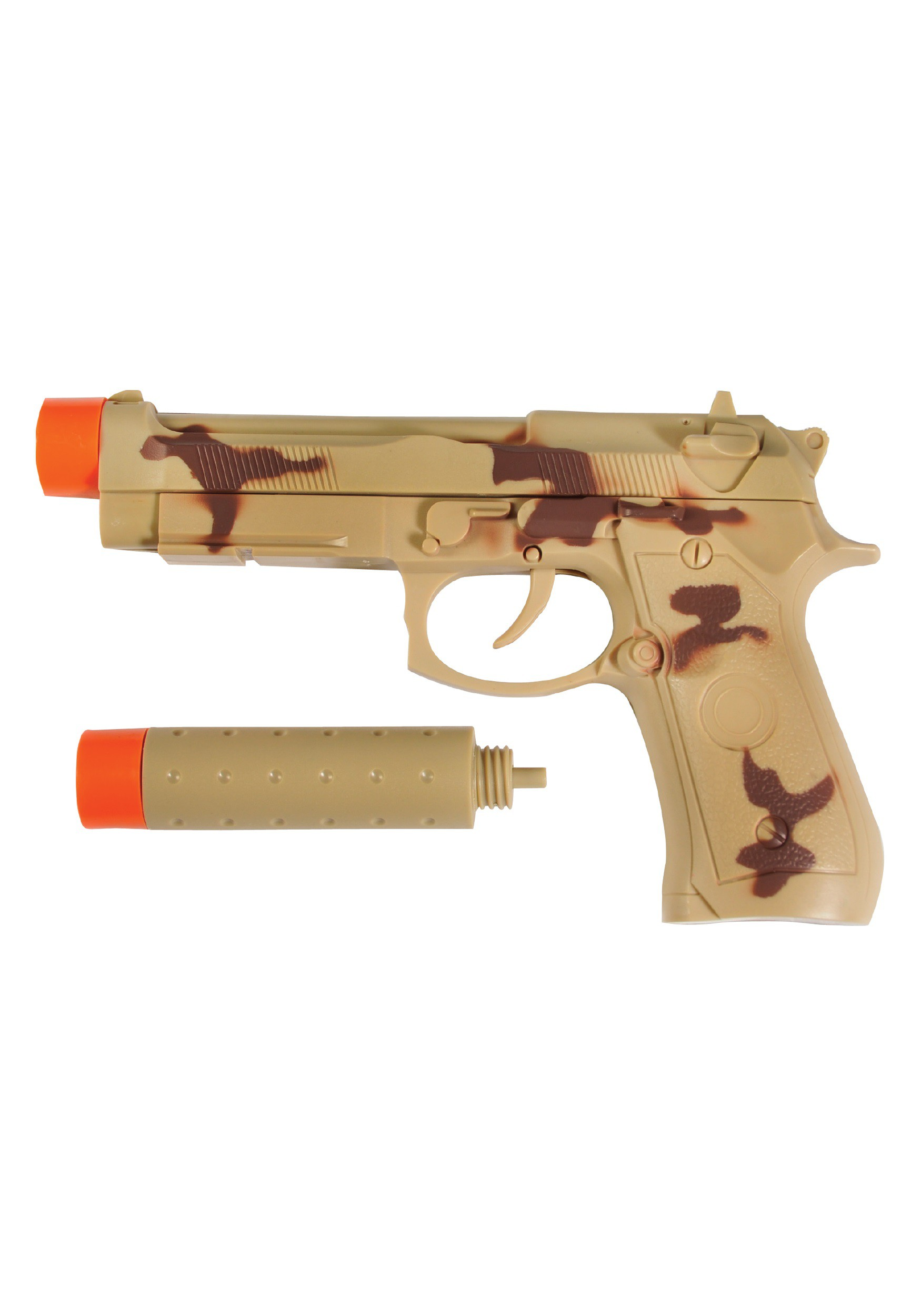 Toy Pistol With Silencer
