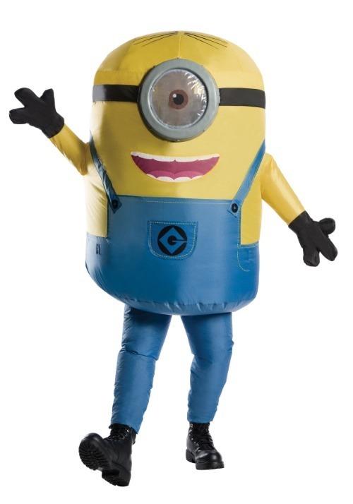 Inflatable Minion Stuart Adult Costume