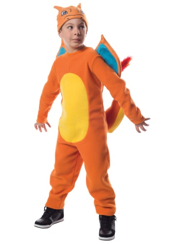 Boys Charizard Costume from Pokemon RU610228-S