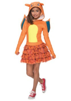 Charizard Girls Costume