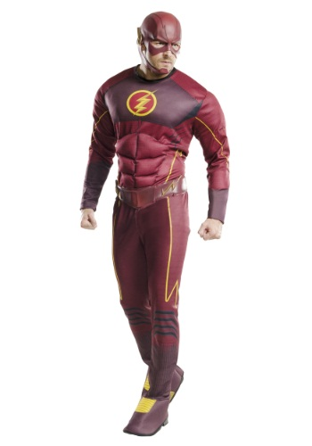 Adult Deluxe The Flash Costume