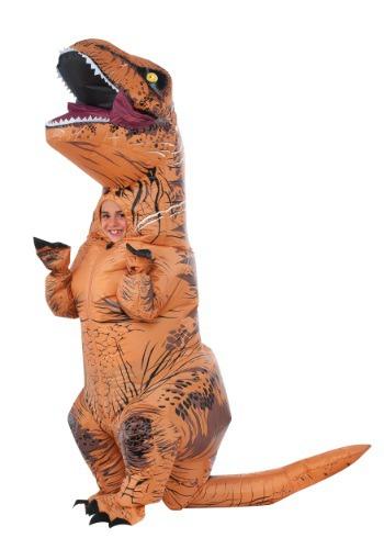 Kids Inflatable Jurassic World T Rex Costume