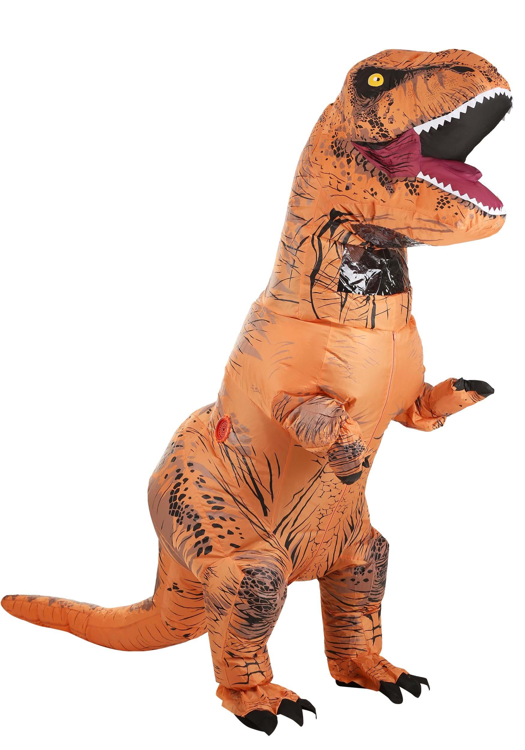 Jurassic World Inflatable T-Rex Adult Costume RU810481