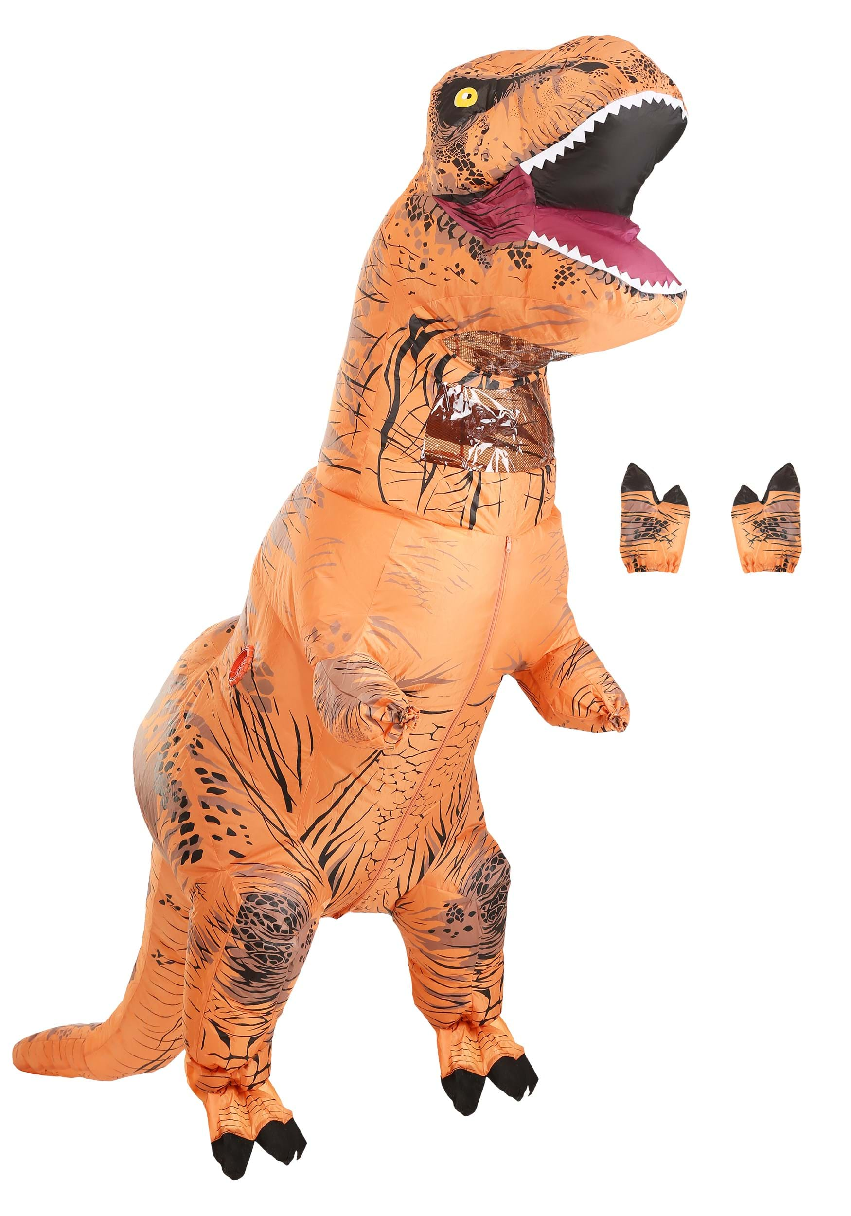 Jurassic World Inflatable T Rex Costume For Adults