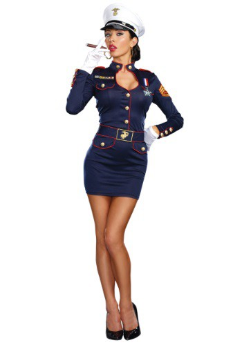 Take Charge Marge Marines Womens Costume