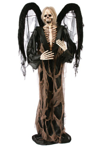 Black Winged 72 inch Gruesome Greeter