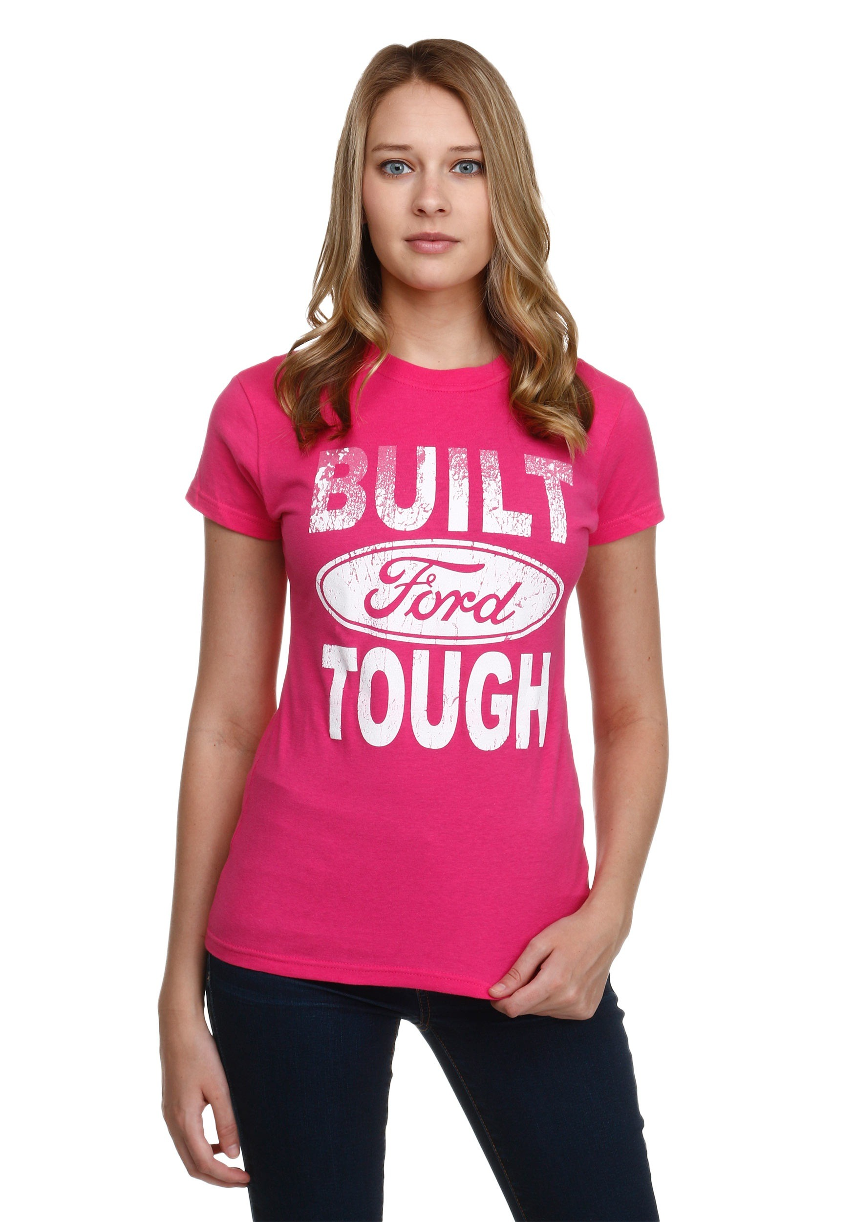 Womens Built Ford Tough T Shirt Apparel Gt Women39s Tshirts Tops Couple Personalized Tee