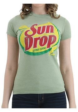 Womens Sun Drop Logo T-Shirt