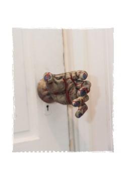 Zombie Hand Door Knob Cover Halloween Decoration