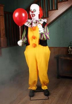 Lifesize Animated IT Pennywise Halloween Decoration