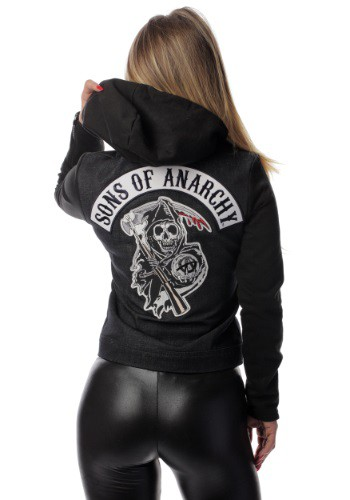 Women's Sons Of Anarchy Denim Highway Jacket