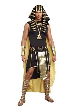 Plus Size King of Egypt Costume For Adults-update1