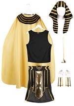 Plus Size King of Egypt Costume Alt 1