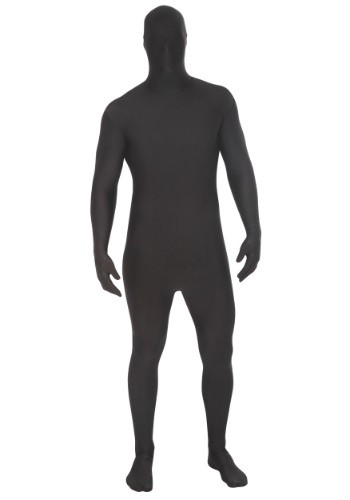Adults Black Morphsuit Costume