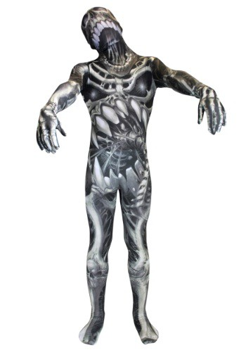 Kid's Skull and Bones Skeleton Morphsuit