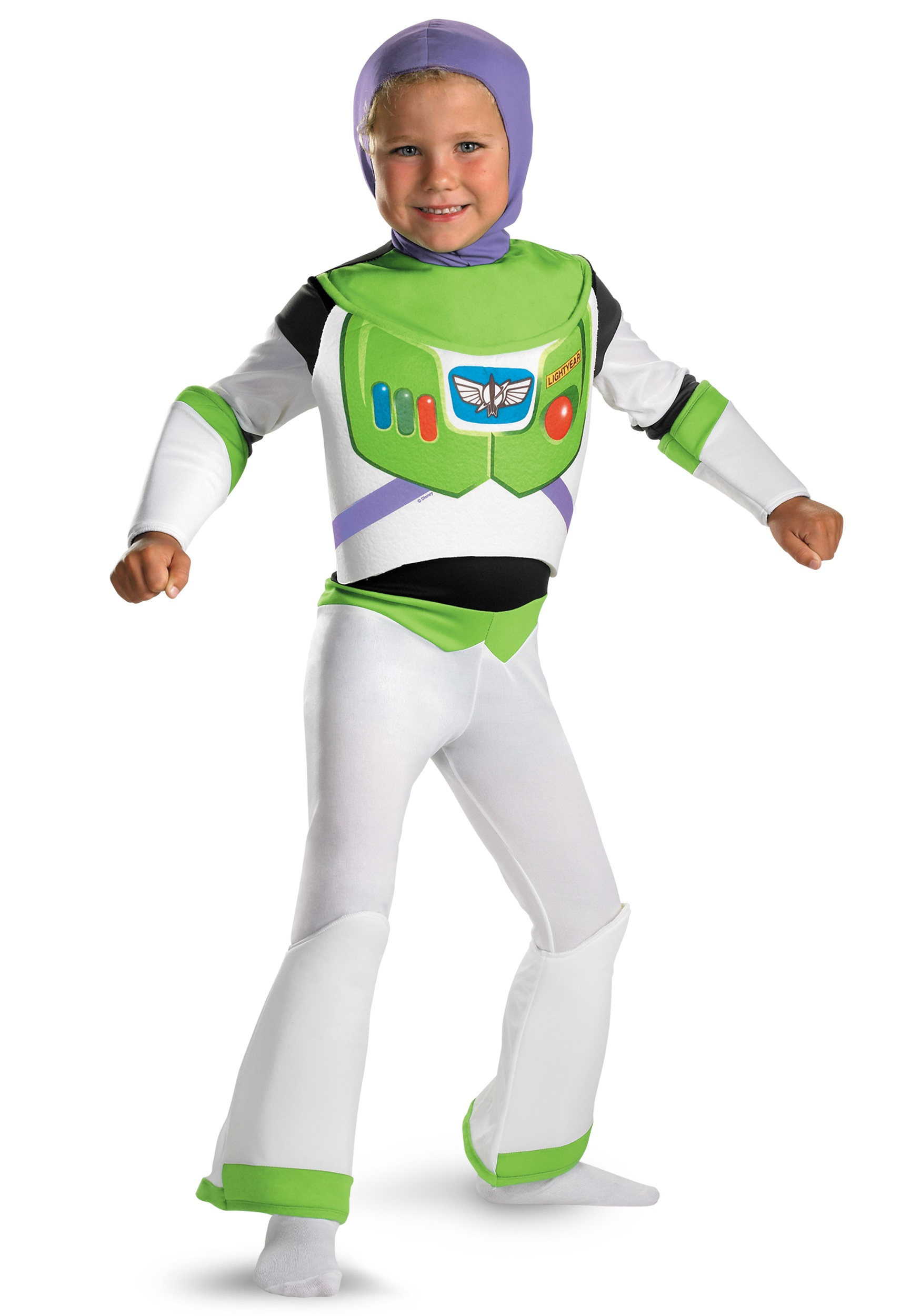 Toddler Buzz Lightyear Costume  sc 1 st  Fun.com & Kids Deluxe Buss Lightyear Costume