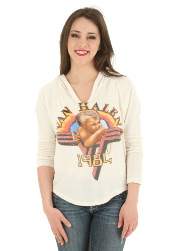 Van Halen Juniors Hooded Pullover Sweater