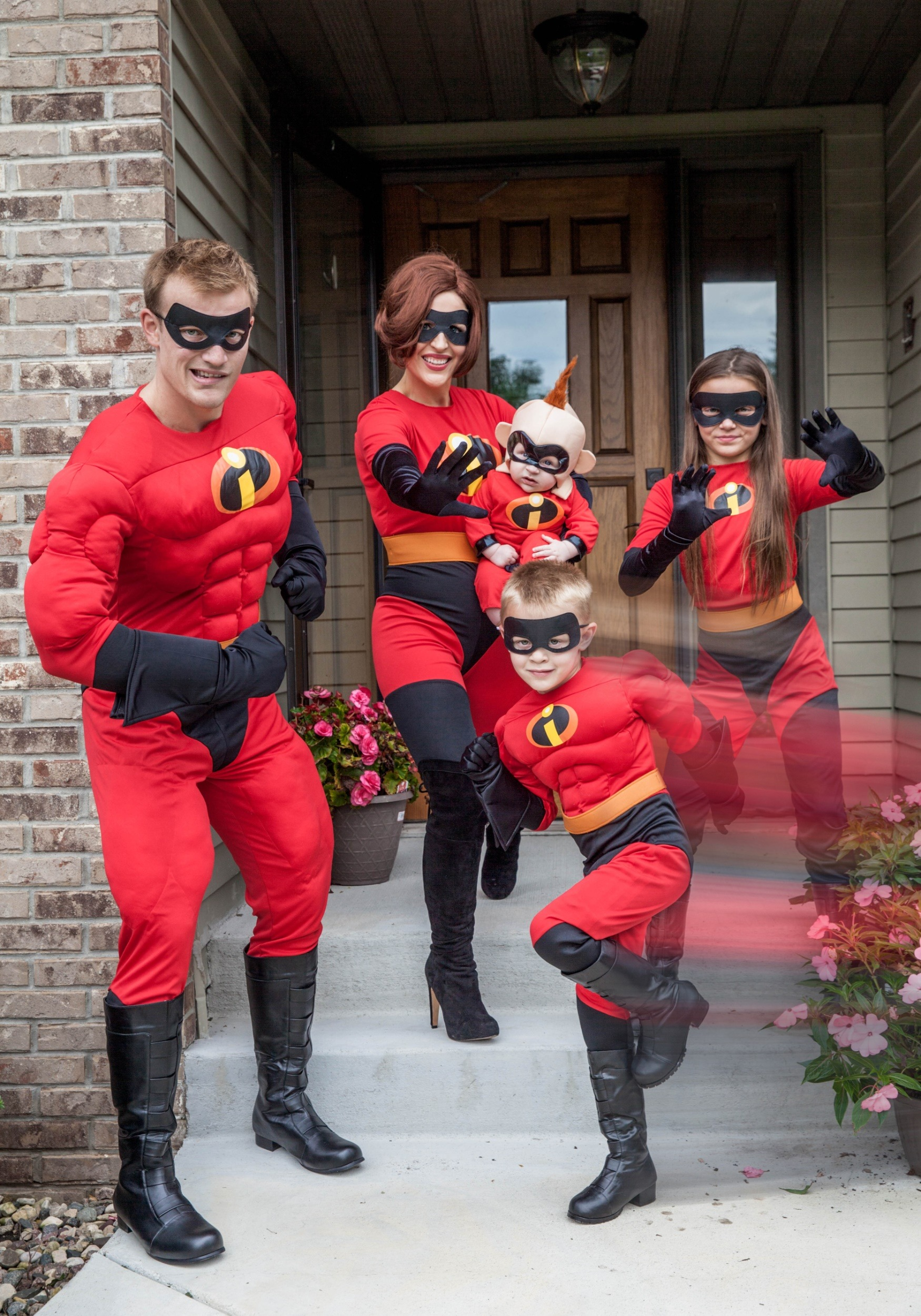 Men S Super Mr Incredible Costume From The Incredibles