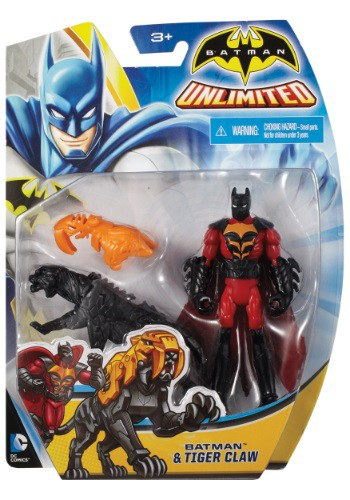"4"" Batman and Tiger Claw Figure"