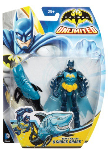 "Batman and Shock Shark 4"""" Figure"" MLCGN53-ST"