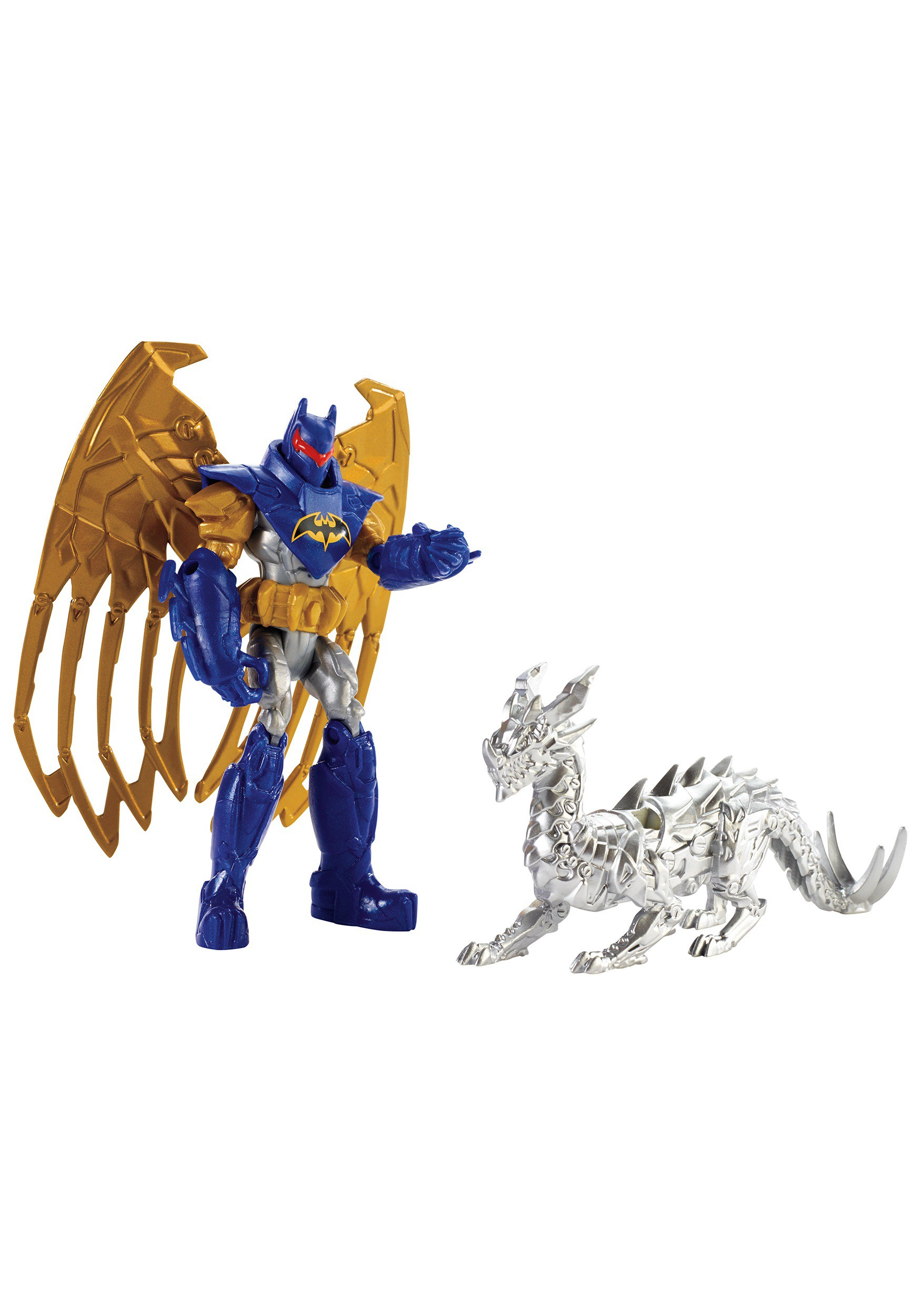 "4"" Batman and Skyfire Dragon Figure Set MLCGN51"