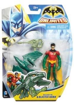 "Robin and Blaster Hawk 4"" Figure"