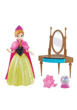Frozen Anna Magiclip Mirror Set