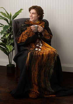 Chewbacca Adult Comfy Throw Blanket alt 1