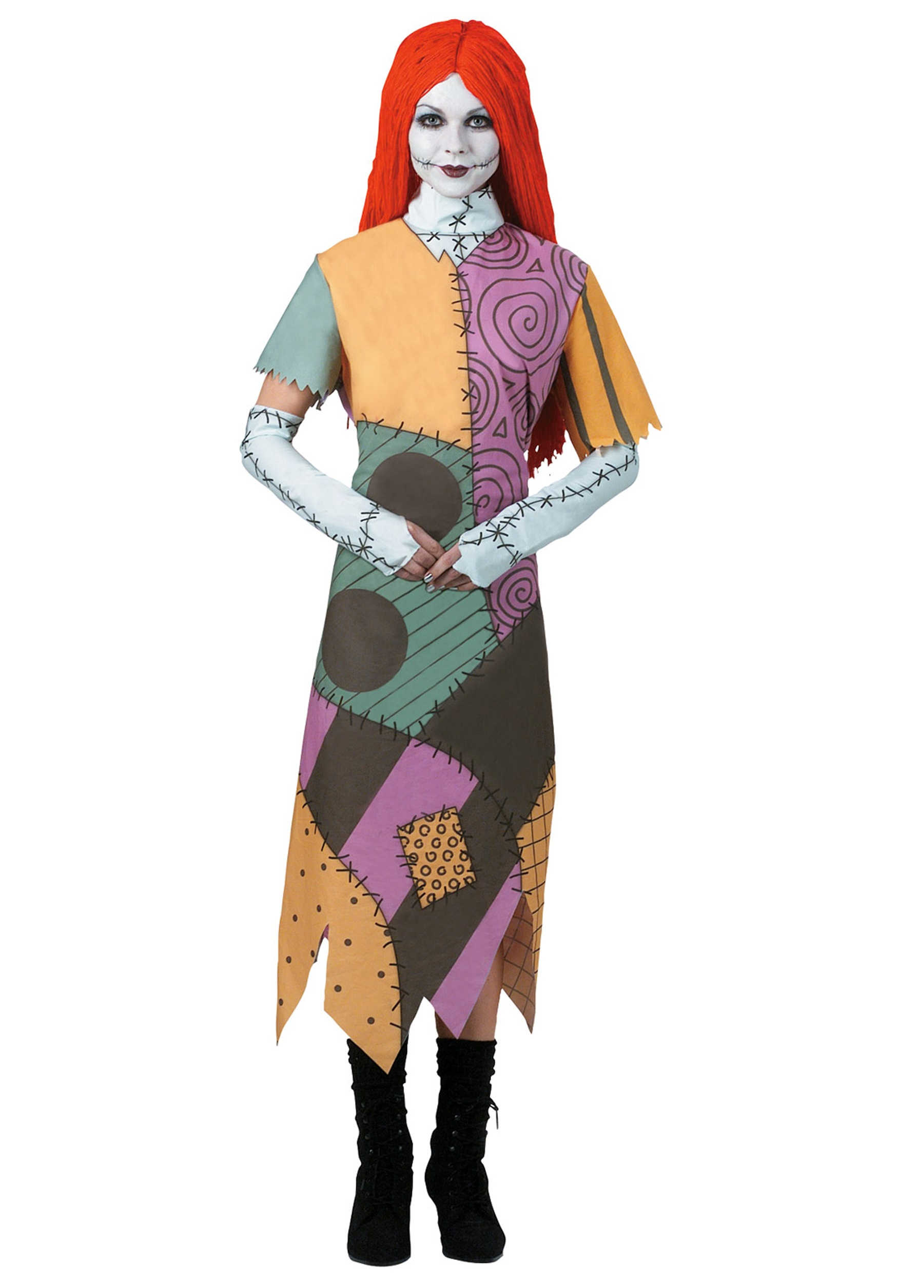 Nightmare Before Christmas Sally Costume for Women