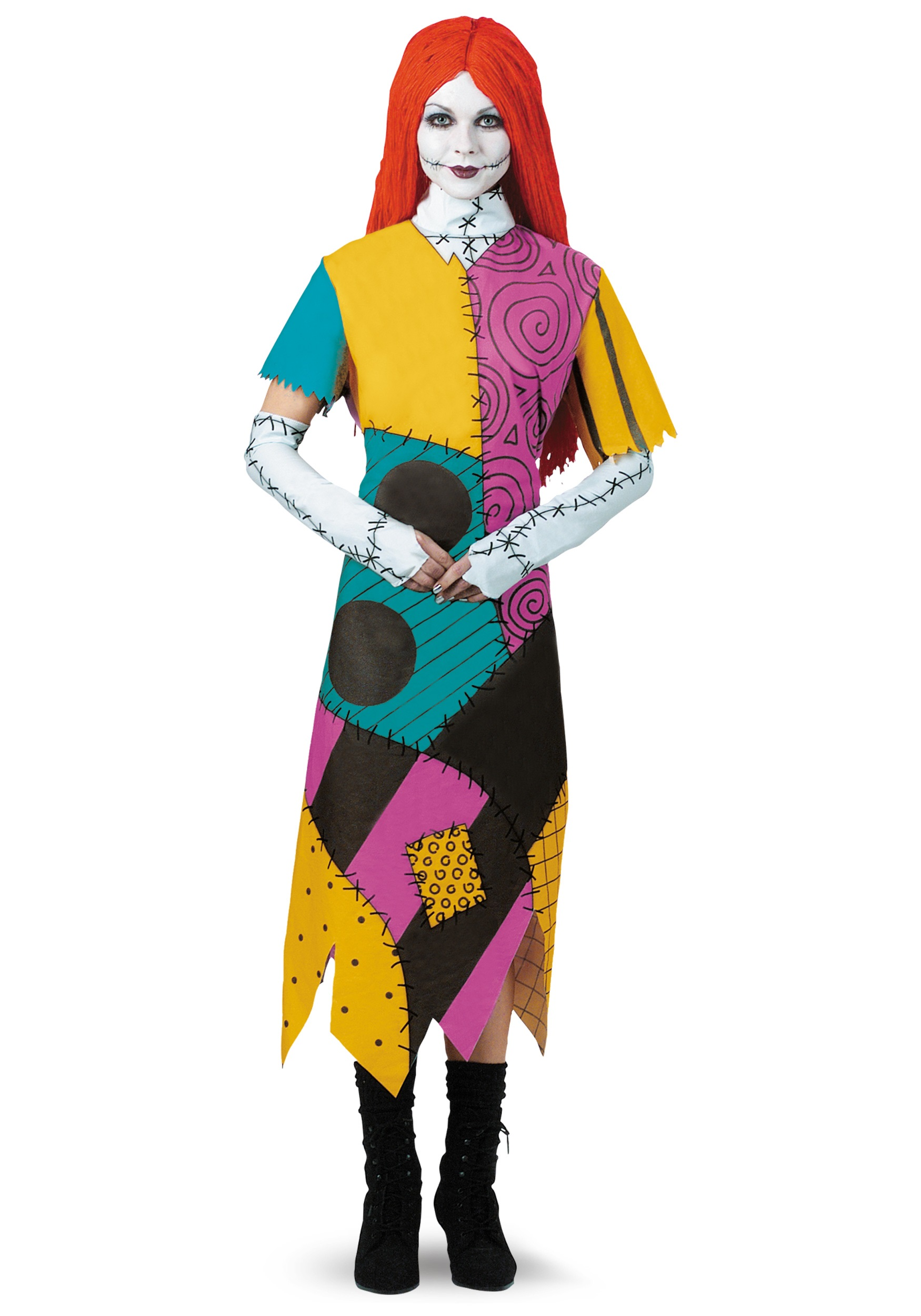 Nightmare Before Christmas Sally Plus Size Costume for Women
