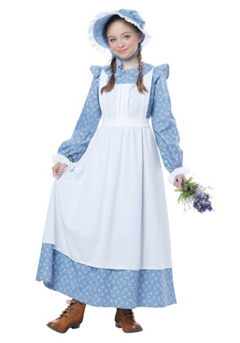 Kids Pioneer Girl Costume