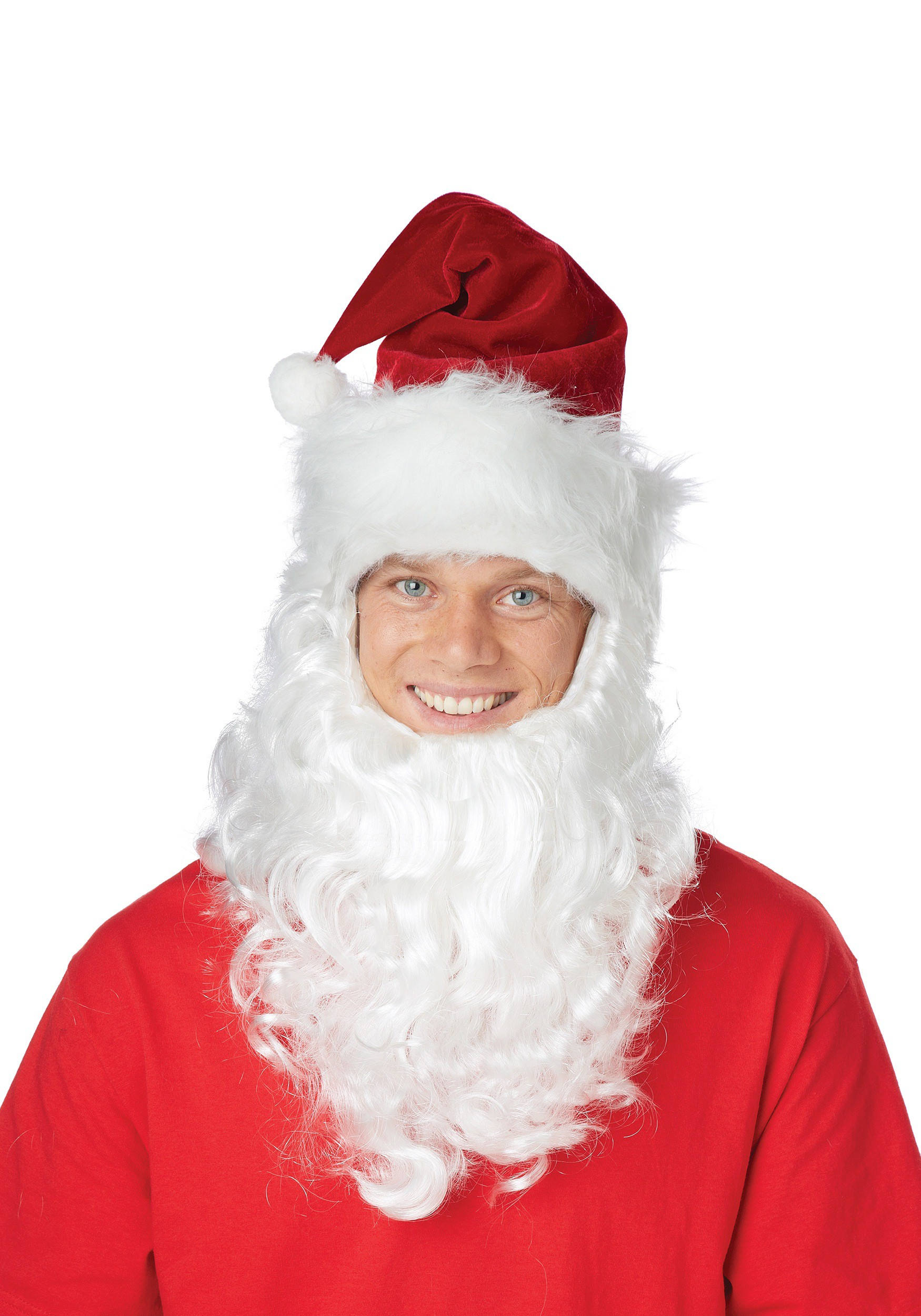 79d64431f64 Santa Hat w  Attached Beard