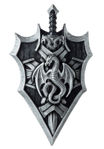 Dragon Lord Sword and Shield Prop