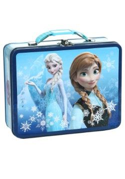 Frozen Embossed Elsa & Anna Lunch Box