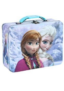 Frozen Embossed Anna & Elsa Lunch Box