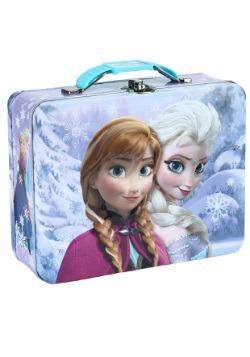 Frozen Embossed Anna & Elsa Lunch Box
