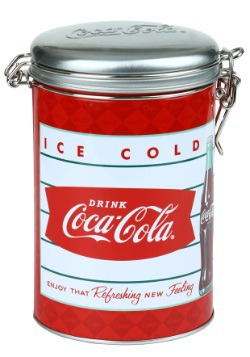 Coke Ice Cold Round Lock-Top Tin