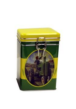 John Deere Moline Square Lock-Top Tin